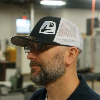 Black/White Medford MKT Shield Flexfit Hat