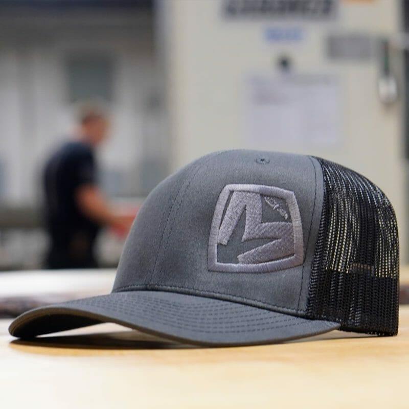 Grey on Grey Medford MKT Shield Snapback Hat