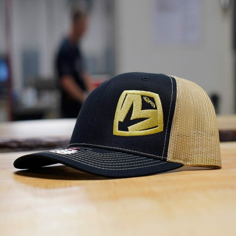 Vegas Gold Medford MKT Shield Snapback Hat