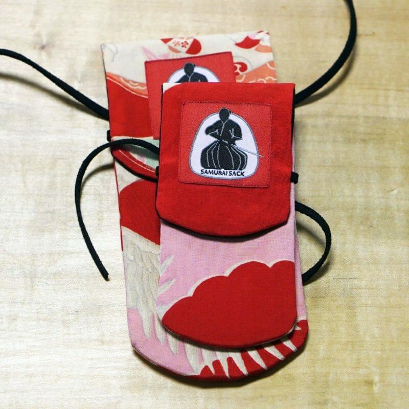 Samurai Sack - Cherry Crane