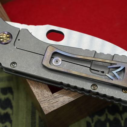 George Washington Knife #3 - Terminator/Flamed TFF-1 - SOLD