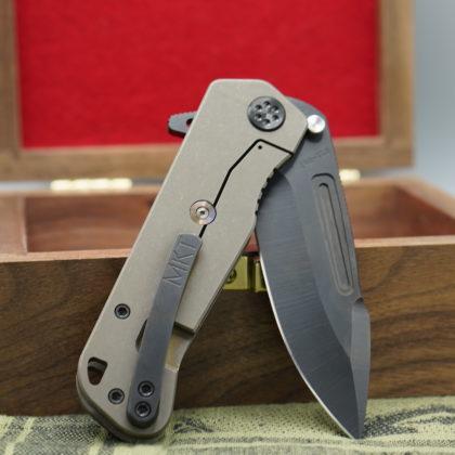 George Washington Knife #2 - Black/Bronze Proxima - SOLD