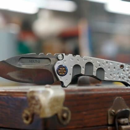 Knife of the Week - Micro Praetorian Ti - SOLD