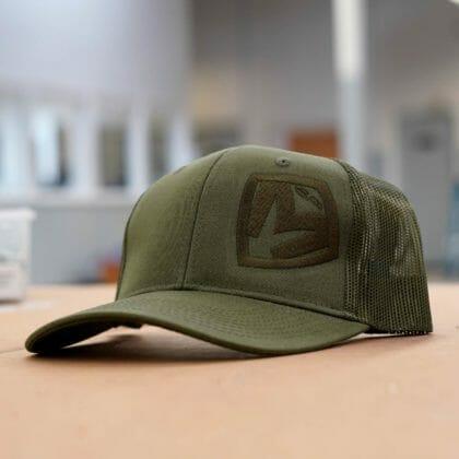 OD Green on OD Green Medford MKT Shield Snapback Hat